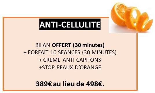 Offre LPG cellulite (fond couleur) 2